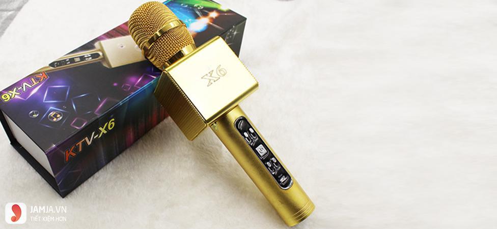 Micro karaoke bluetooth x6