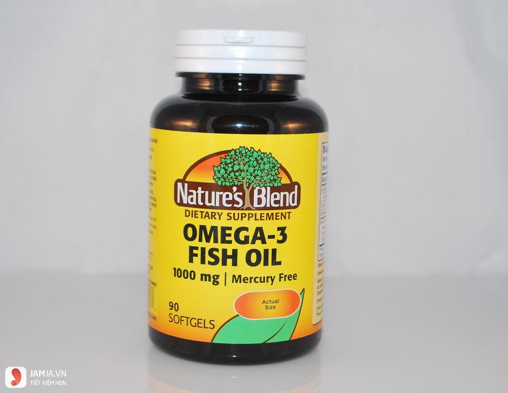 Nature's Blend Omega-3 Fish Oil