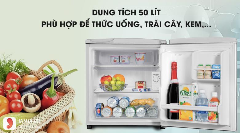Tủ lạnh AQUA AQR-55ER SS 53L