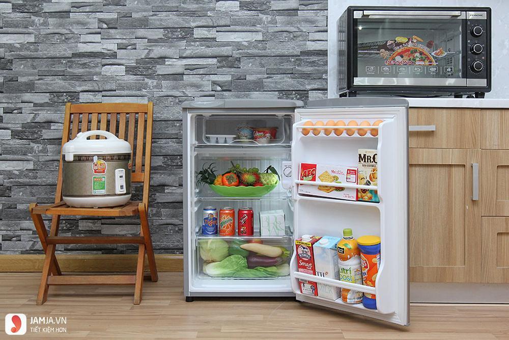 Tủ lạnh Aqua AQR-95AR 90 lít - 1