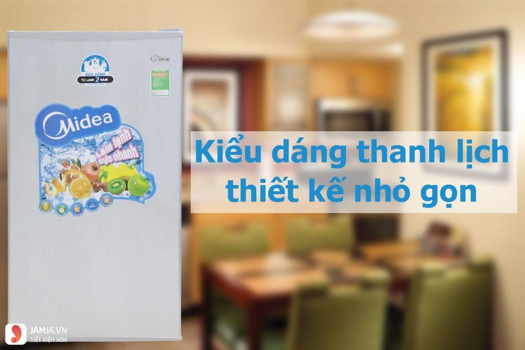 Tủ lạnh Mini Midea HS-122SN 93L