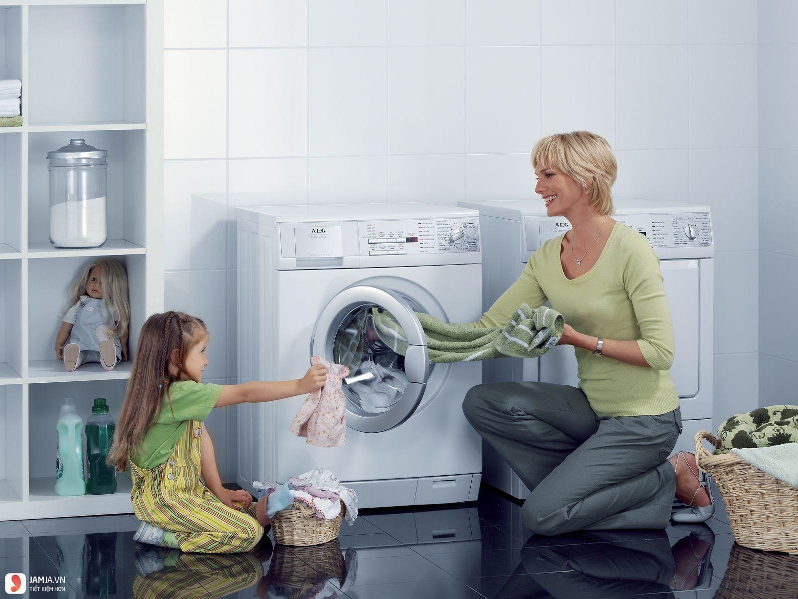 Cách dùng máy giặt Aqua 4