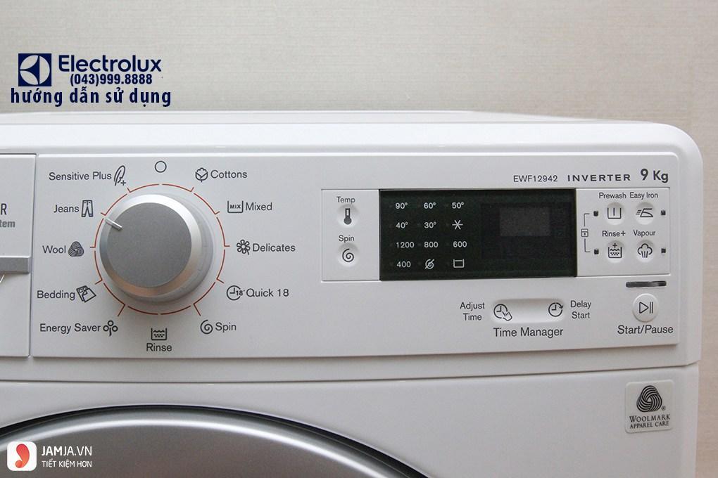 Cách dùng máy giặt Electrolux tiết kiệm điện 3