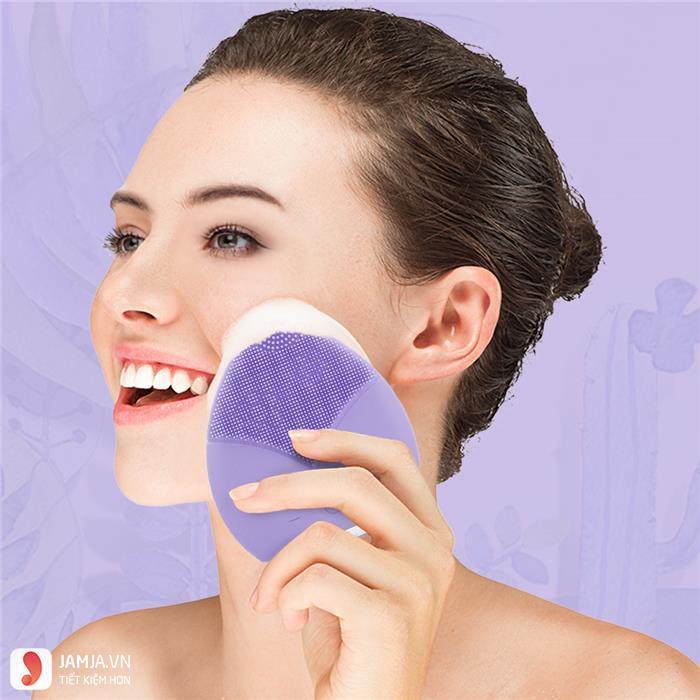 cách dùng máy rửa mặt Sunmay 4