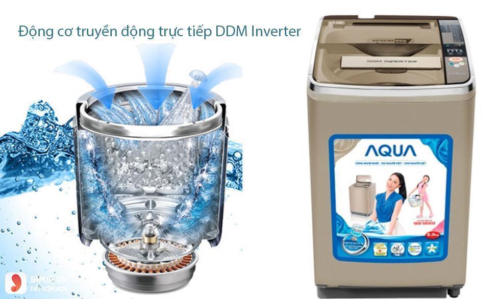 chế độ giặt máy giặt aqua