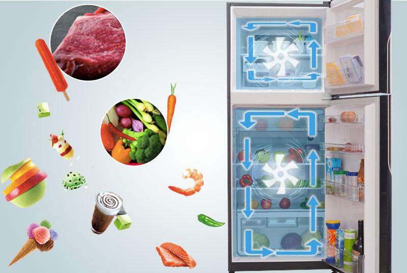 Công nghệ hiện đại của tủ lạnh Hitachi 1