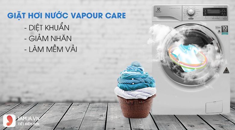 Công nghệ giặt của máy giặt Electrolux 1