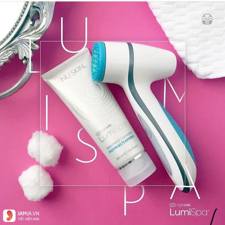 Hướng dẫn dùng máy rửa mặt Lumispa 1