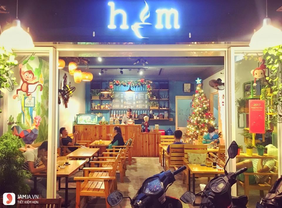 Không gian Hẻm Coffee & Fruit