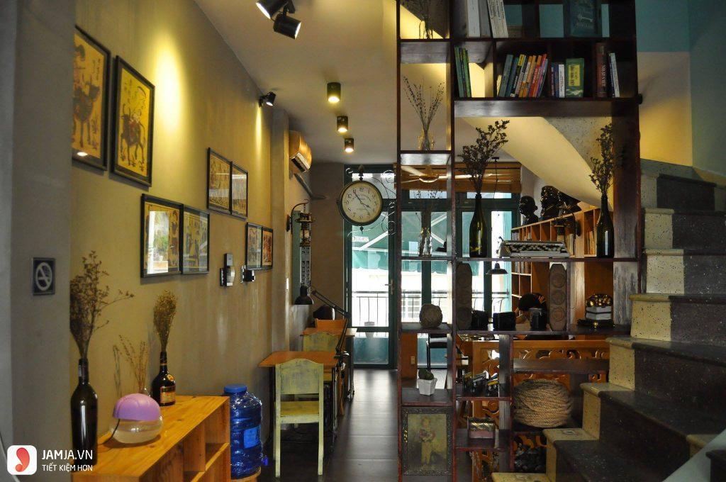 Không gian Slowee Coffee & Books 3