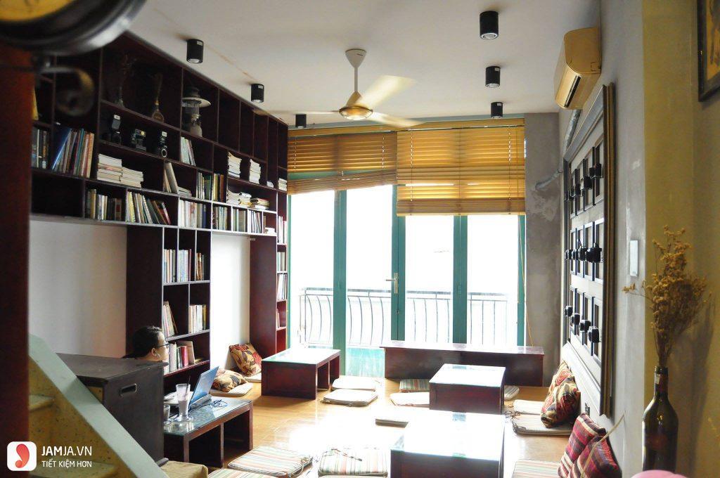 Không gian Slowee Coffee & Books 6