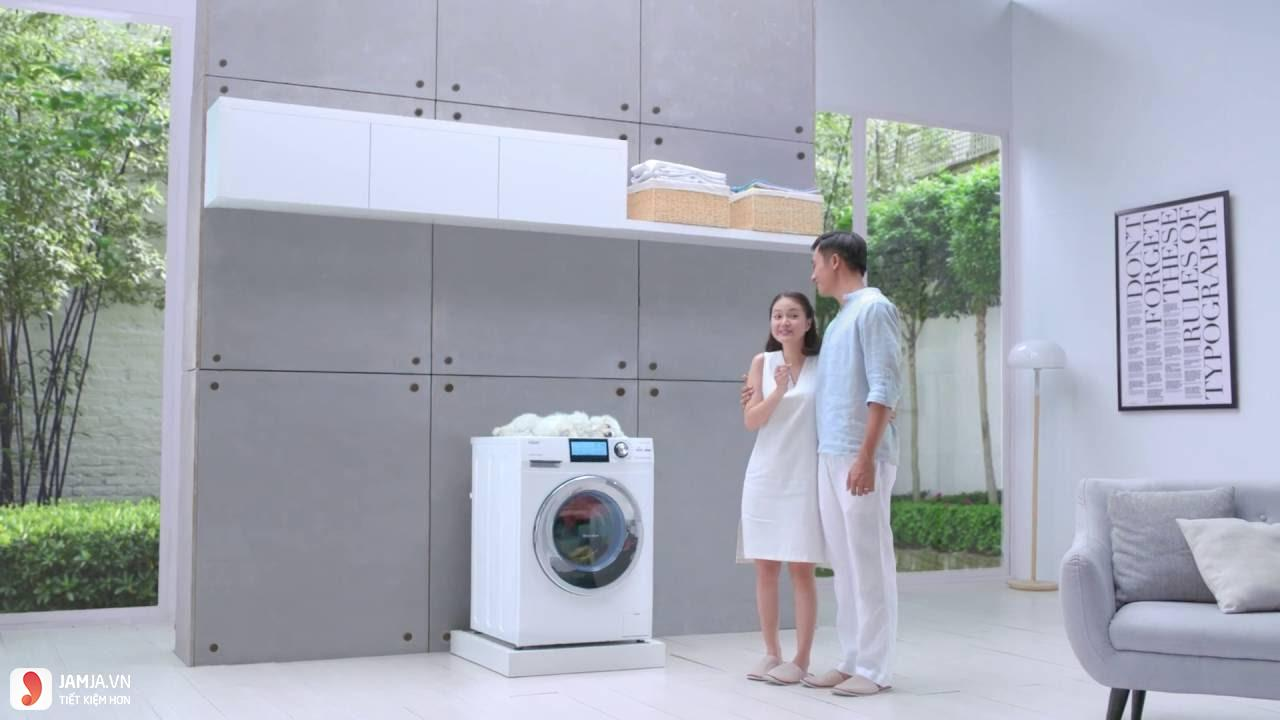 Máy giặt Aqua dòng lồng ngang