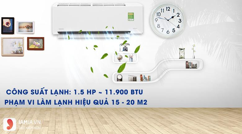Máy lạnh Inverter Toshiba RAS-H13FKCVG-V