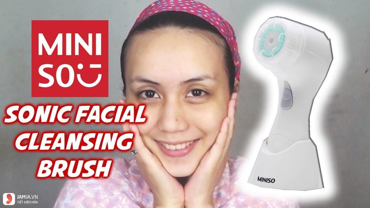 Máy rửa mặt Miniso sử dụng như thế nào