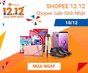 Shopee sale sinh nhật 10.12