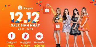 Shopee sale sinh nhật 12.12