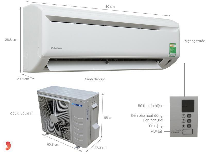 So sánh điều hòa Daikin với điều hòa Panasonic 1