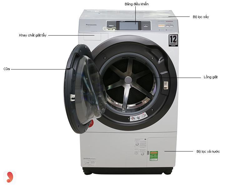 So sánh máy giặt Electrolux với máy giặt Panasonic 1