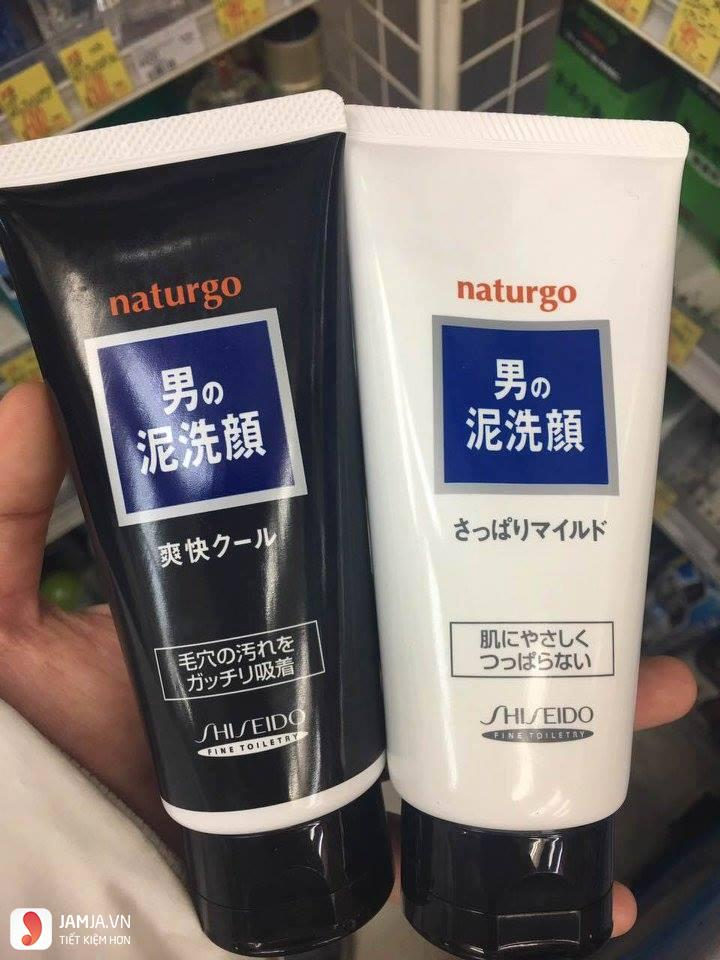 ữa rửa mặt cho nam Naturgo Shiseido