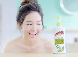 sữa tắm hazeline có làm trắng da không