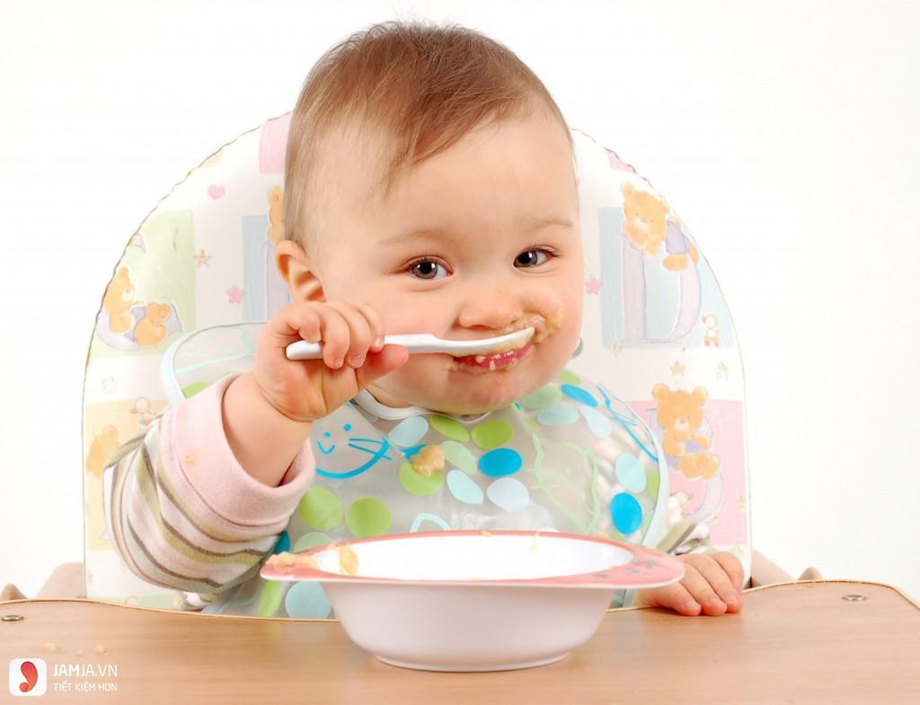 Tiêu chí lựa chọn bột dành cho bé ăn dặm 1