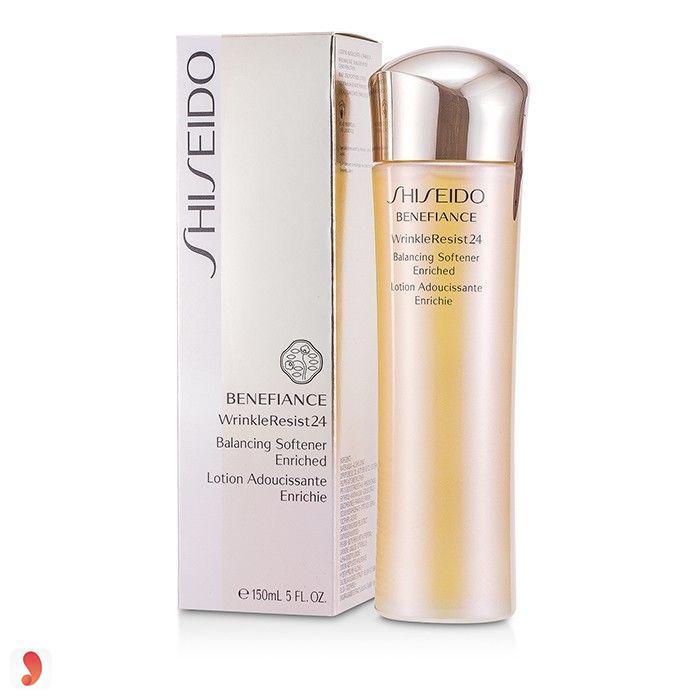 Tonner Shiseido Benefiance WrinkleResist24 Balancing Softener Enriched