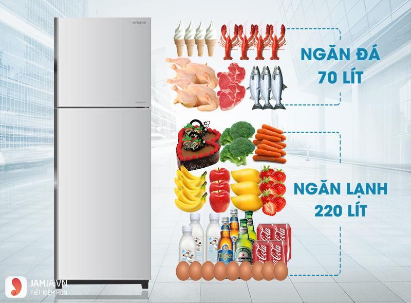 Tủ lạnh Hitachi 225 lít R-T230EG1