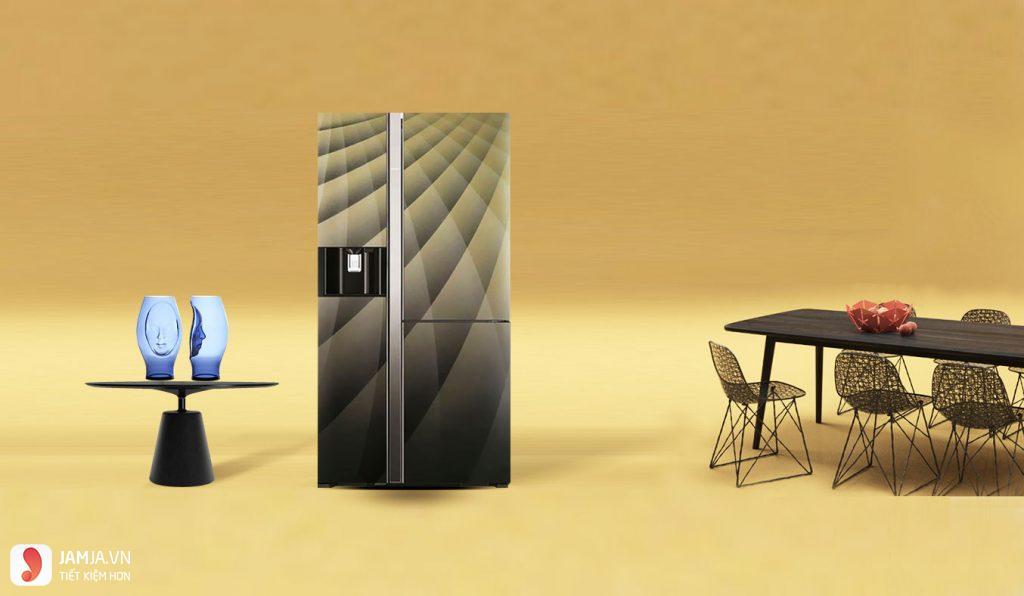 Tủ lạnh Hitachi R-M700AGPGV4X DIA