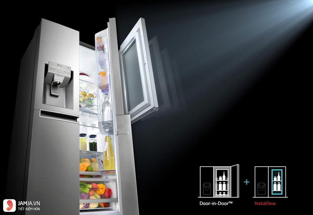 Tủ lạnh Instaview Door In Door LG GR-X247JS