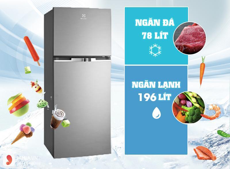 Tủ lạnh Inverter Electrolux 254 lít ETB2600MG