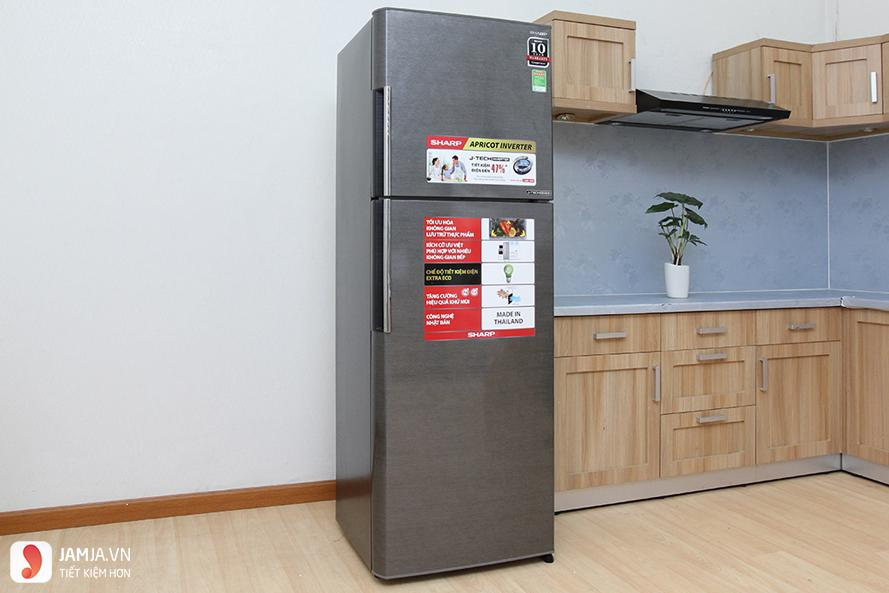 Tủ lạnh Inverter Sharp 287 lít SJ-X316E-DS