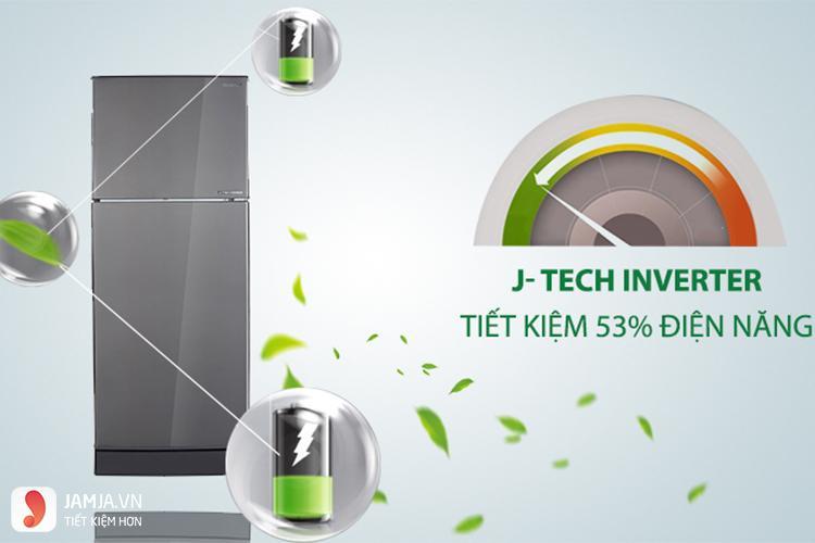 Tủ lạnh Inverter Sharp SJ-X201E-DS