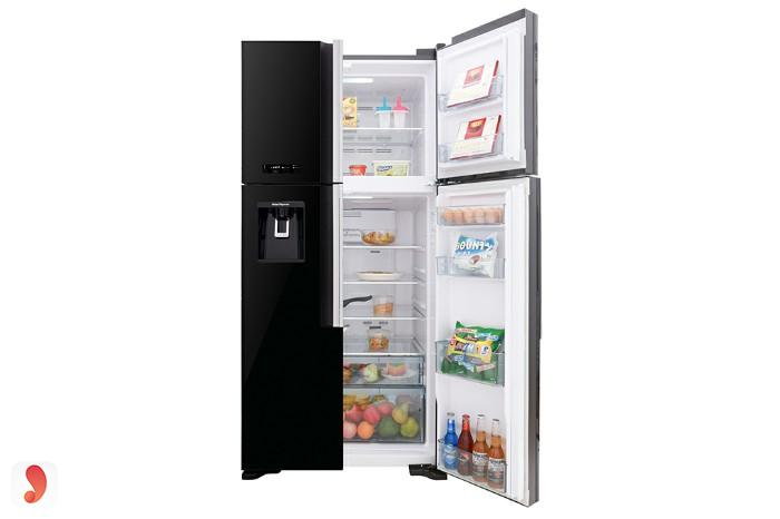 Tủ lạnh side by side Hitachi R-FW690PGV7-GBK