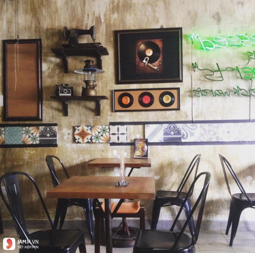 Đen Đá Coffee decor