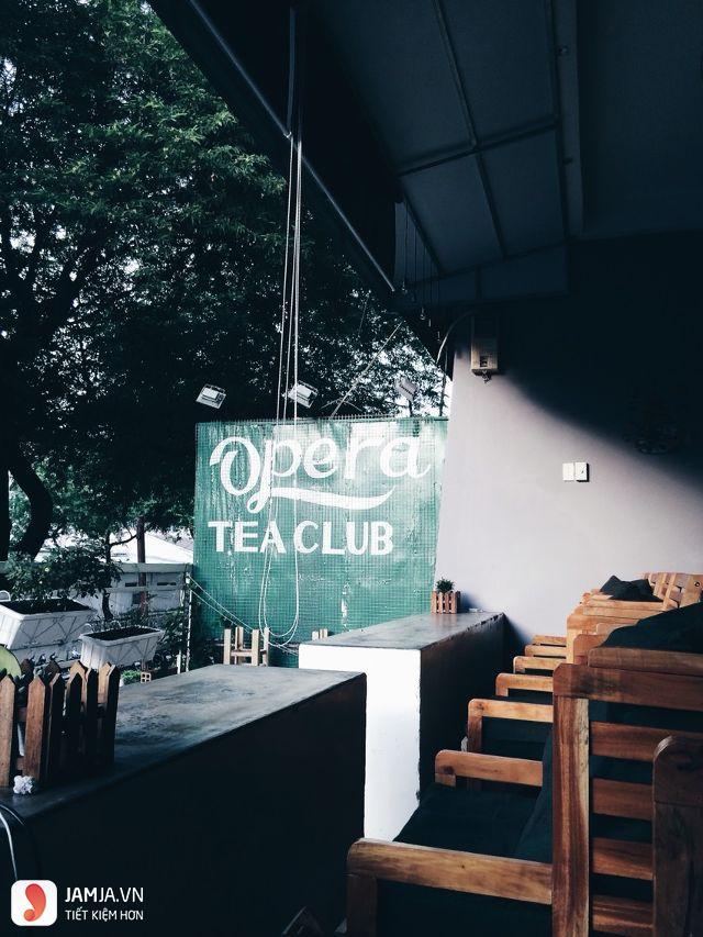 Opera Tea Club không gian