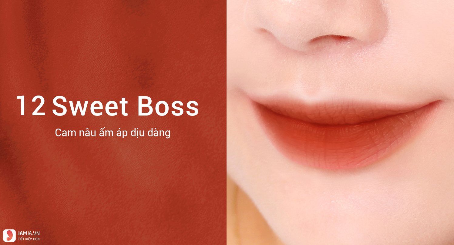 Bbia Last Velvet Lip Tint Version 3 màuSweet Bosslast-velvet-lip-tint-mau12