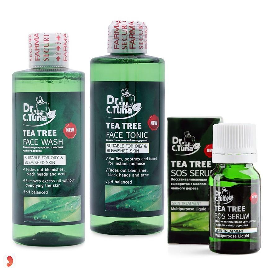 Bộ kem trị mụn dưỡng da Farmasi Tea Tree 2