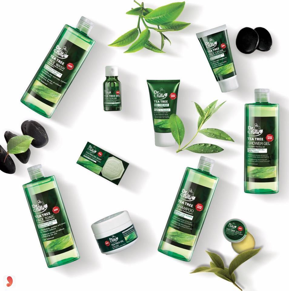 Bộ kem trị mụn dưỡng da Farmasi Tea Tree 1