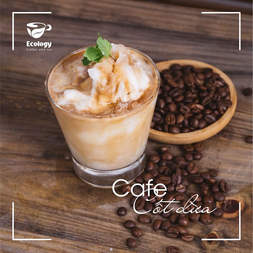 Cafe cốt dừa Ecology
