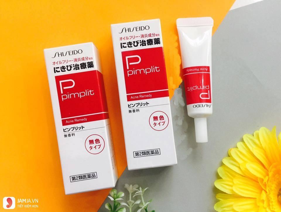 Kem trị mụn Shiseido Pimplit 1