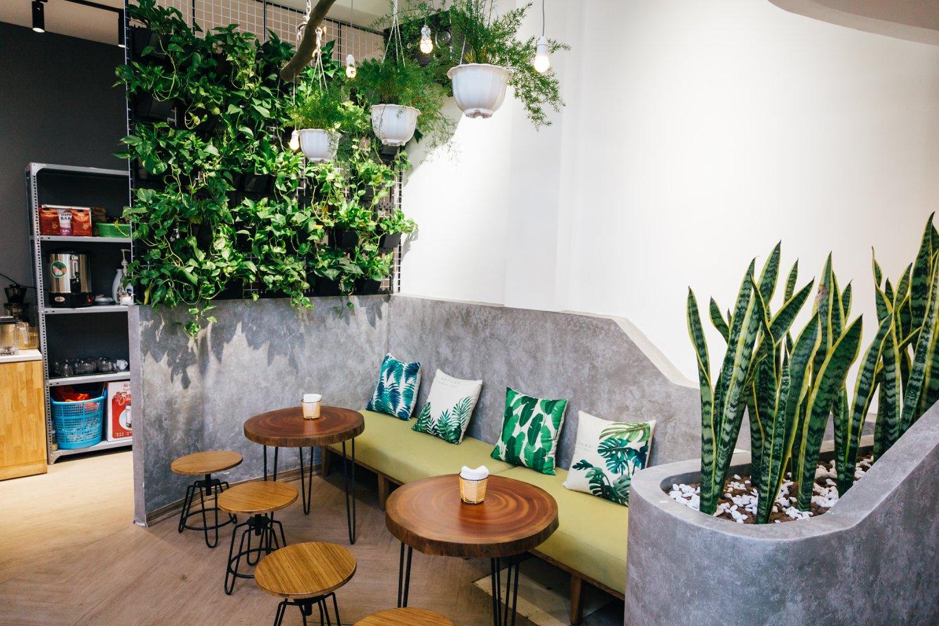 Không gian Ecology coffee & tea
