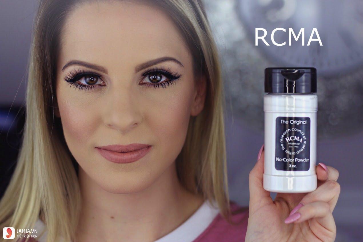 Phấn phủ RCMA No Color Powder3