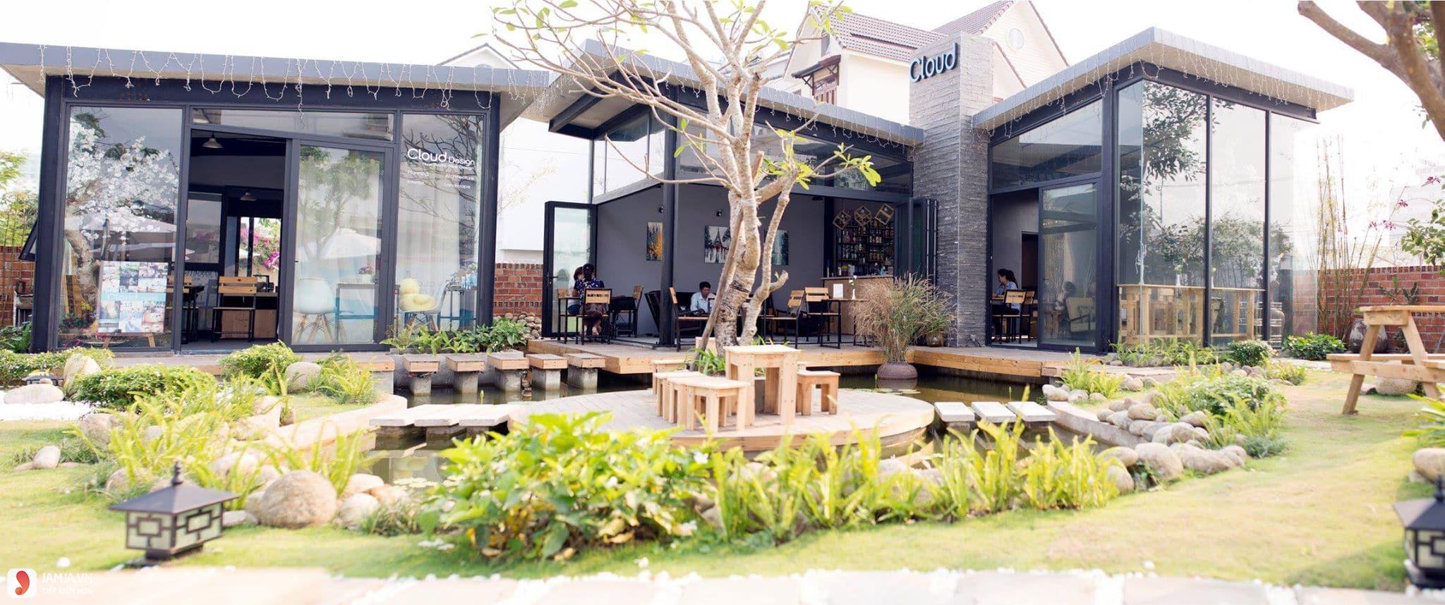 quán cà phê đẹp và rẻ ở đà nẵng Cloud Garden Coffee Shop 1