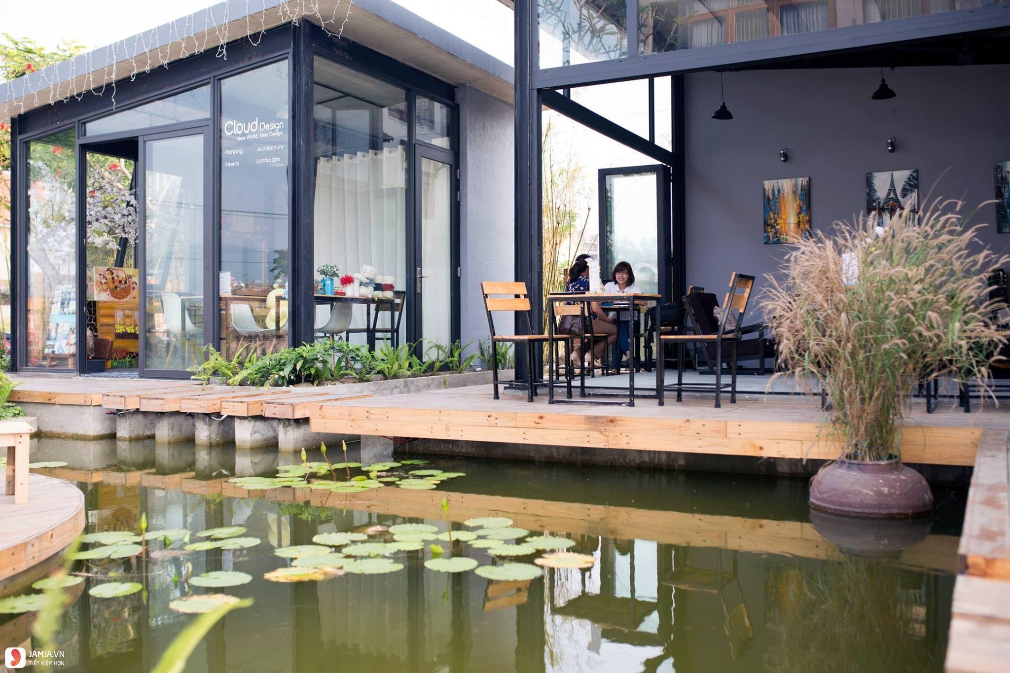 quán cà phê đẹp và rẻ ở đà nẵng Cloud Garden Coffee Shop 2