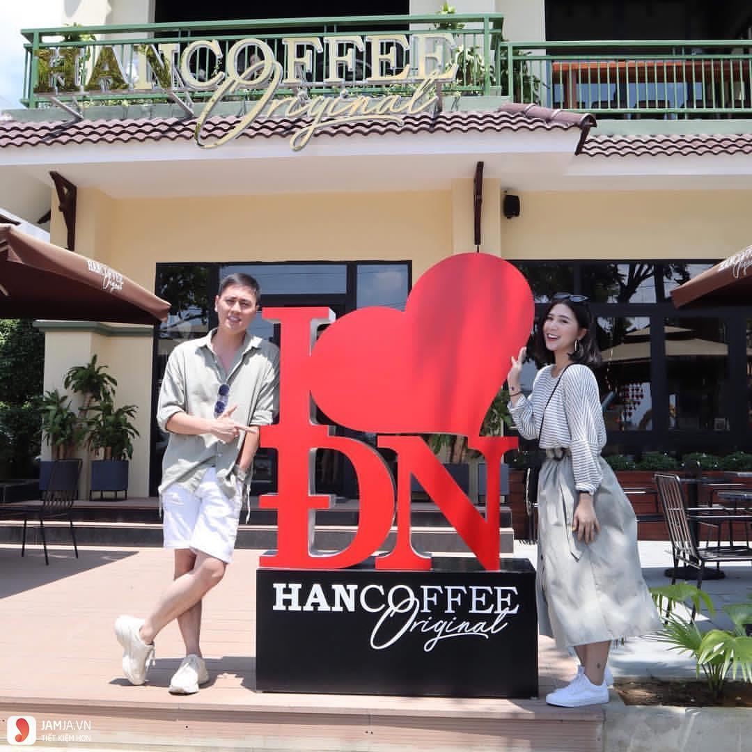 quán cà phê đẹp và rẻ ở đà nẵng HANCOFFEE Đà Nẵng 1