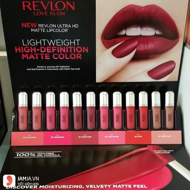 son kem lì Revlon Ultra HD Matte Lip Color 1