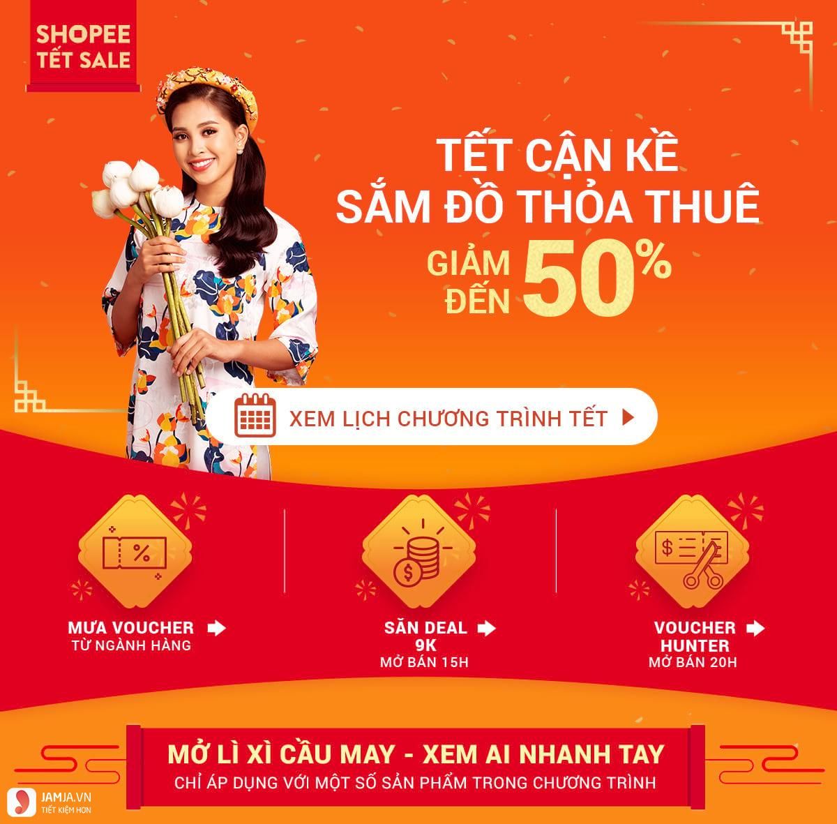 shopee tết sale