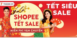 Shopee Tết Sale 2019