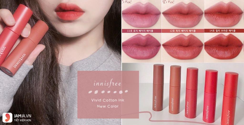 Innisfree Vivid Cotton Ink 1