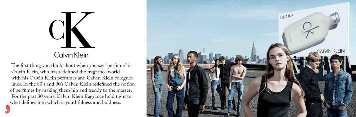 Thương hiệu Calvin Klein 1